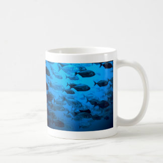 School of Jack Fishes. Mugs