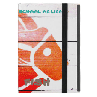 "SCHOOL OF LIFE  ""wicked fish"" iPad mini case"