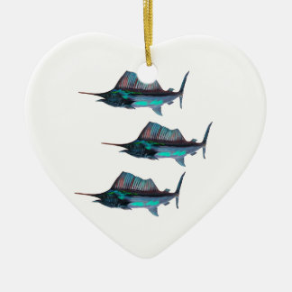 SCHOOL OF POWER CERAMIC HEART DECORATION