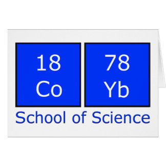 School of Science Card