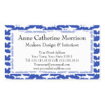 School of Sharks Funny Blue and White Pack Of Standard Business Cards