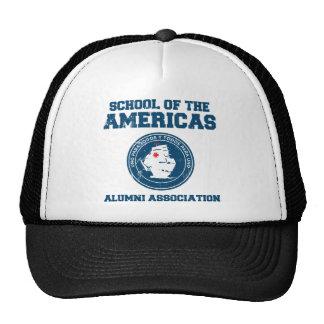 school of the americas alumni trucker hat