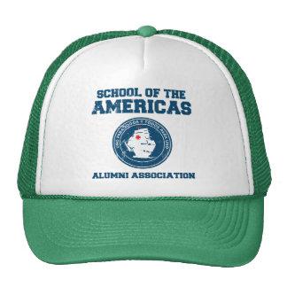 school of the americas alumni trucker hats