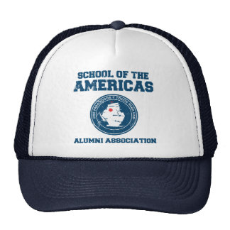 school of the americas alumni mesh hats