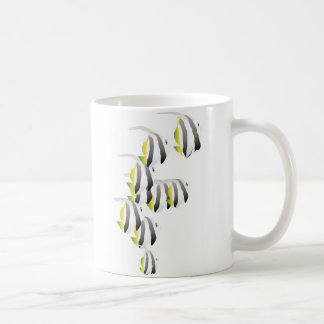 School of Tropical Fish Basic White Mug