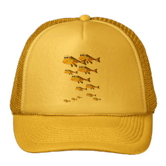 School Of Yellow Fish Hat