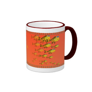 School Of Yellow Fish Mug