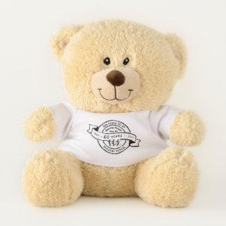 School Organisation 60th Anniversary Logo T-Shirt Teddy Bear