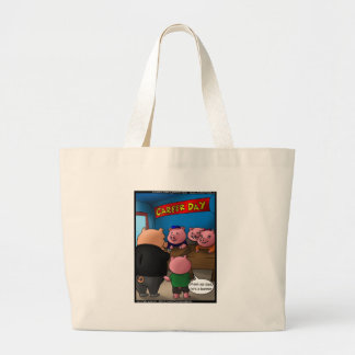 School Parents Day 4 Pigs Tees Cards & Gifts Canvas Bag