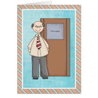 School Principal Thank You Card