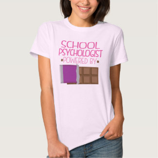 School Psychologist Chocolate Gift for Her T-Shirt