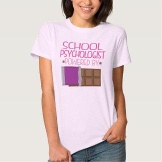 School Psychologist Chocolate Gift for Her Tshirt