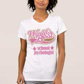 School Psychologist Gift (Worlds Best) Tshirt