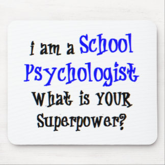 school psychologist mouse pad