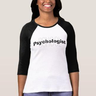School Psychologist Overlay Tee Shirt