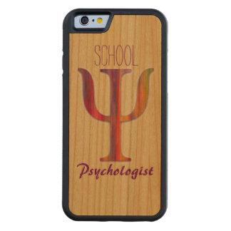 School Psychologist Wood iPhone 6 Case Cherry iPhone 6 Bumper