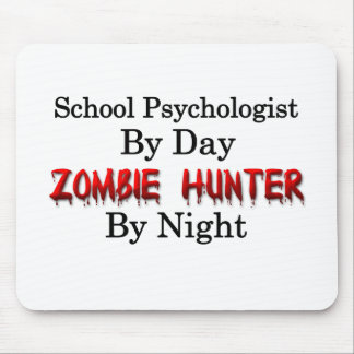 School Psychologist/Zombie Hunter Mouse Pad
