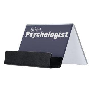 School Psychologist's Business Card Holder
