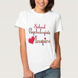 School Psychologists Inspire T-shirts