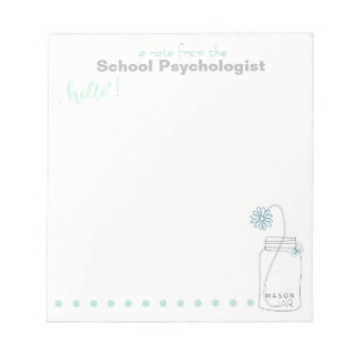 School Psychologist's Note Pad (small)