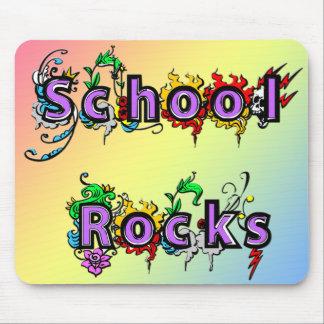School Rocks Mouse Pad