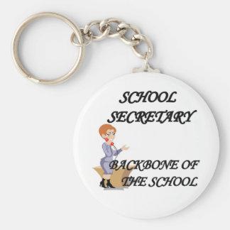 SCHOOL SECRETARY KEYCHAIN