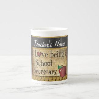 School Secretary Vintage Unique Style Porcelain Mug