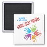 School Social Workers Magnet