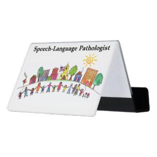 School Speech Pathologist's Business Card Holder