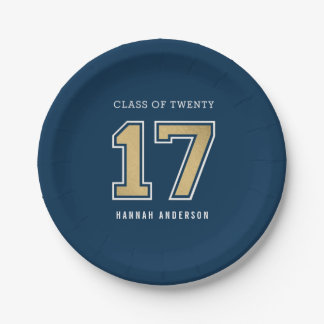School Spirit EDITABLE COLOR Graduation Plates