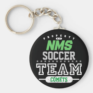 School Sport Team Key Ring