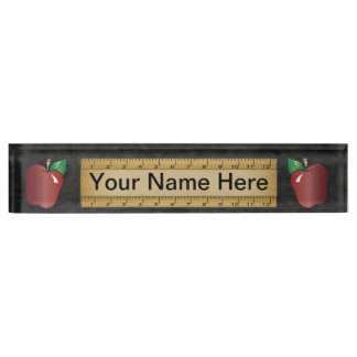 School Teacher | DIY Name Nameplate