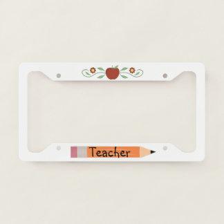 School Teacher License Plate Frame
