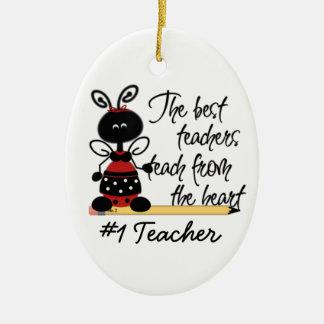 School Teacher s Ladybug Gift Ornament