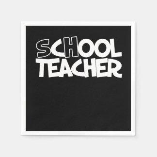 School teachers cool teacher disposable serviette