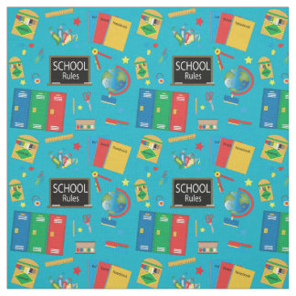 School Time | Changeable Background Color Fabric