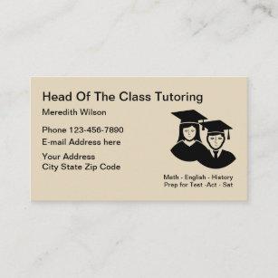 School tutoring teacher business card school tutoring teacher business card reheart Image collections
