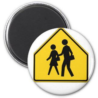 School Zone Highway Sign Magnet