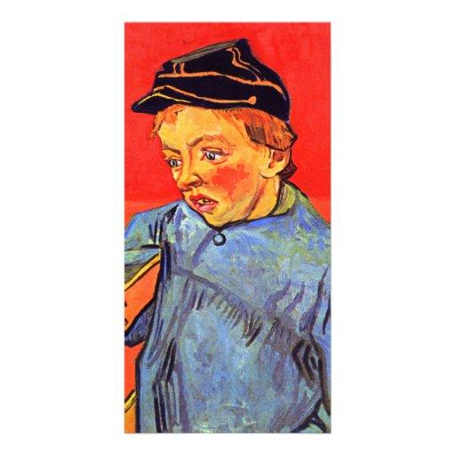 Schoolboy by Vincent van Gogh Photo Cards