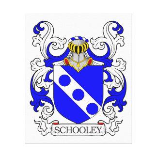 Schooley Coat of Arms Canvas Prints
