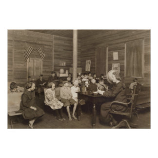 Schoolhouse by Lewis Hine, 1921 Print