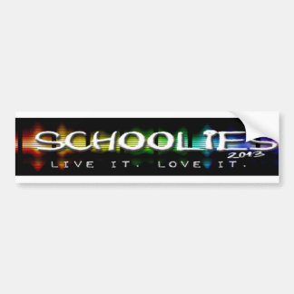 Schoolies 2013 Clothing & Souvenirs Bumper Sticker