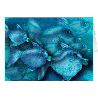 Schooling Fish Card