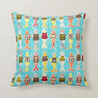 schooling fish pillow