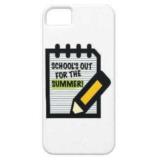 School's Out For The Summer! iPhone 5 Cases