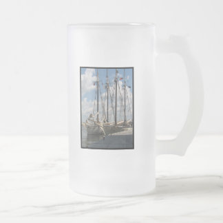 Schooner Frosted Beer Mug