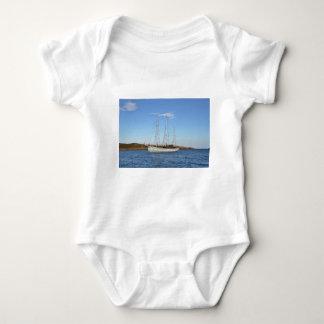 Schooner In The Isles Of Scilly Baby Bodysuit