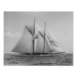 Schooner Mayflower Poster