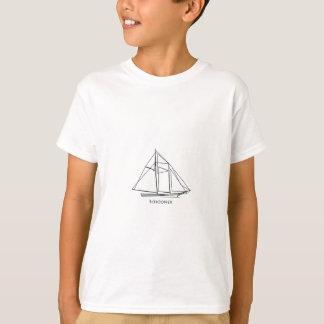 Schooner Sailboat T-Shirt
