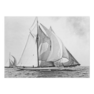 "Schooner Yacht ""Mayflower"" Poster"